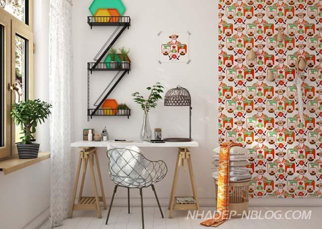 Những thiết kế thú vị cho phòng ngủ của bé
