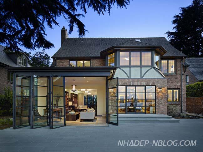 Ngôi biệt thự đẹp mang phong cách Tudor