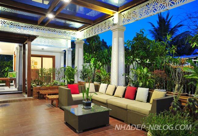 Biệt thự vườn mang nét đặc trưng Nam Bộ tại Trà Vinh