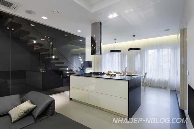 Cải tạo nhà phố đẹp 3 tầng với thiết kế hiện đại