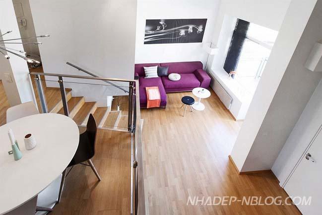 Nhà đẹp với thiết kế 2 tầng hiện đại