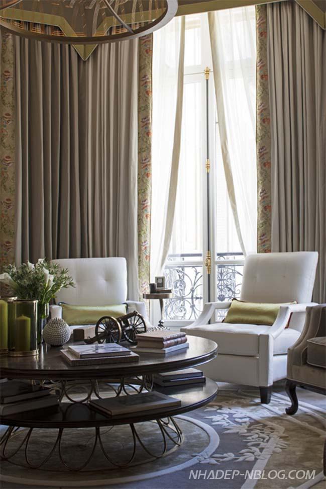 Căn hộ chung cư với thiết kế cổ điển sang trọng
