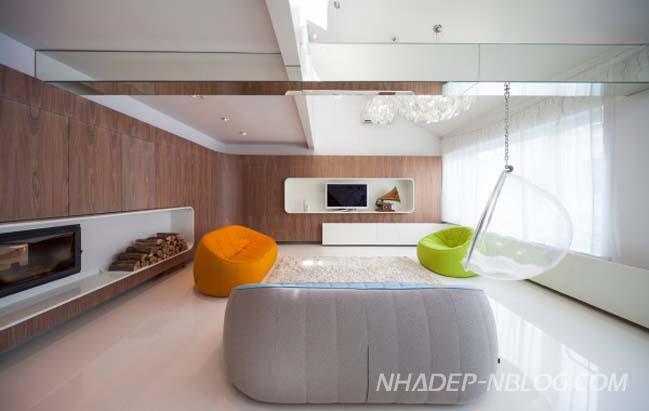 Nhà đẹp 2 tầng với thiết kế tối giản tràn ngập ánh sáng