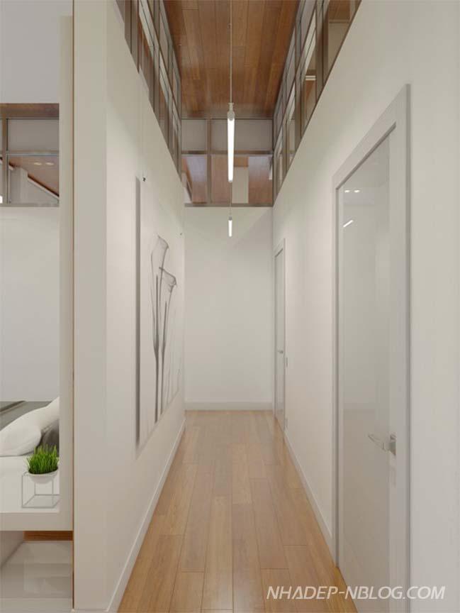 Nội thất tối giản của căn hộ chung cư đẹp