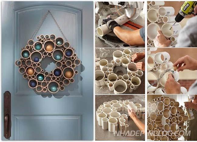 12 thiết kế sáng tạo từ ống nhựa PVC