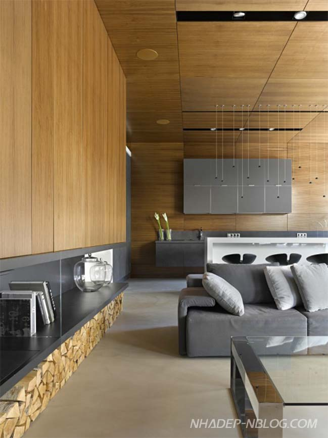 Thiết kế nhà đẹp với không gian xuyên suốt