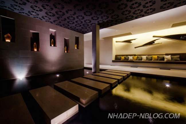 Ngắm biệt thự siêu sang với nội thất gỗ tại Thái Lan