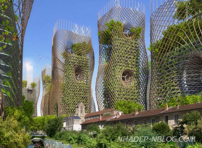 Kiến trúc xanh tương lai của thành phố Paris 2050