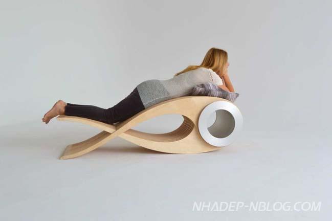 Chiếc ghế với thiết kế biến hình độc đáo