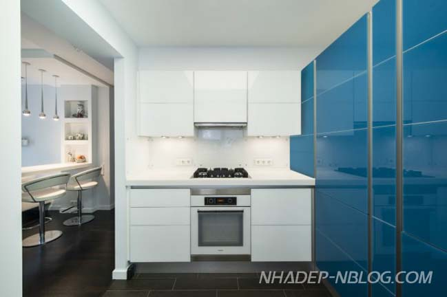 Thiết kế đẹp cho căn hộ chung cư 56m2