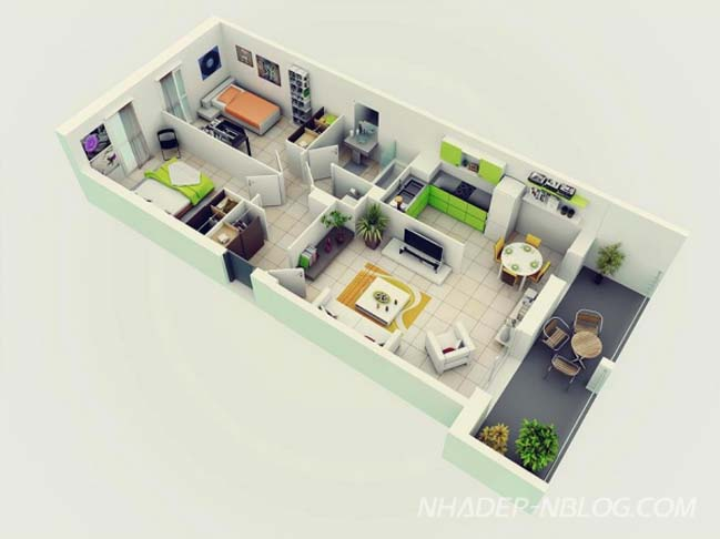 20 m u thi t k c n h chung c 2 ph 242 ng ng planos de departamentos dos dormitorios construye hogar