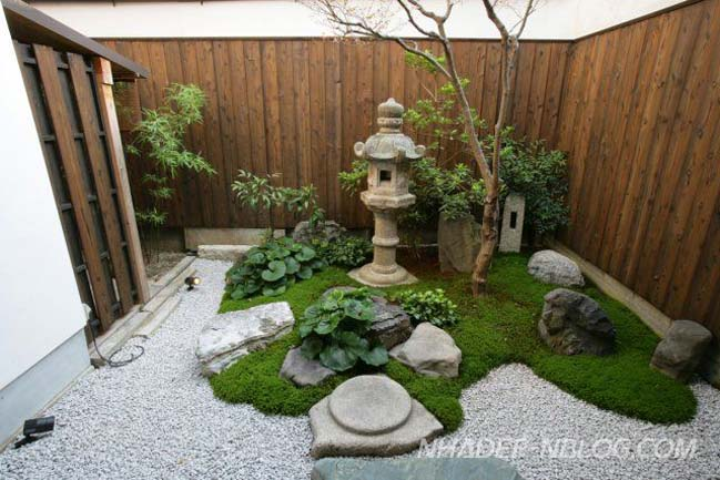 Thiết kế sân vườn đẹp theo phong cách Nhật Bản