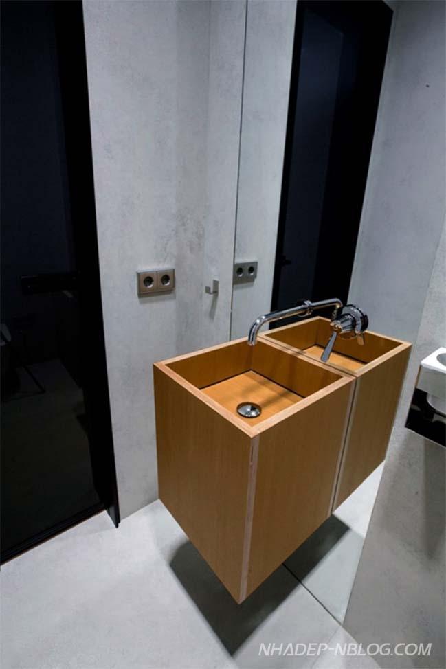 Căn hộ chung cư với thiết kế hiện đại ấm cúng