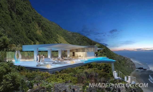 Hoa mắt với biệt thự siêu đẹp tại Bali