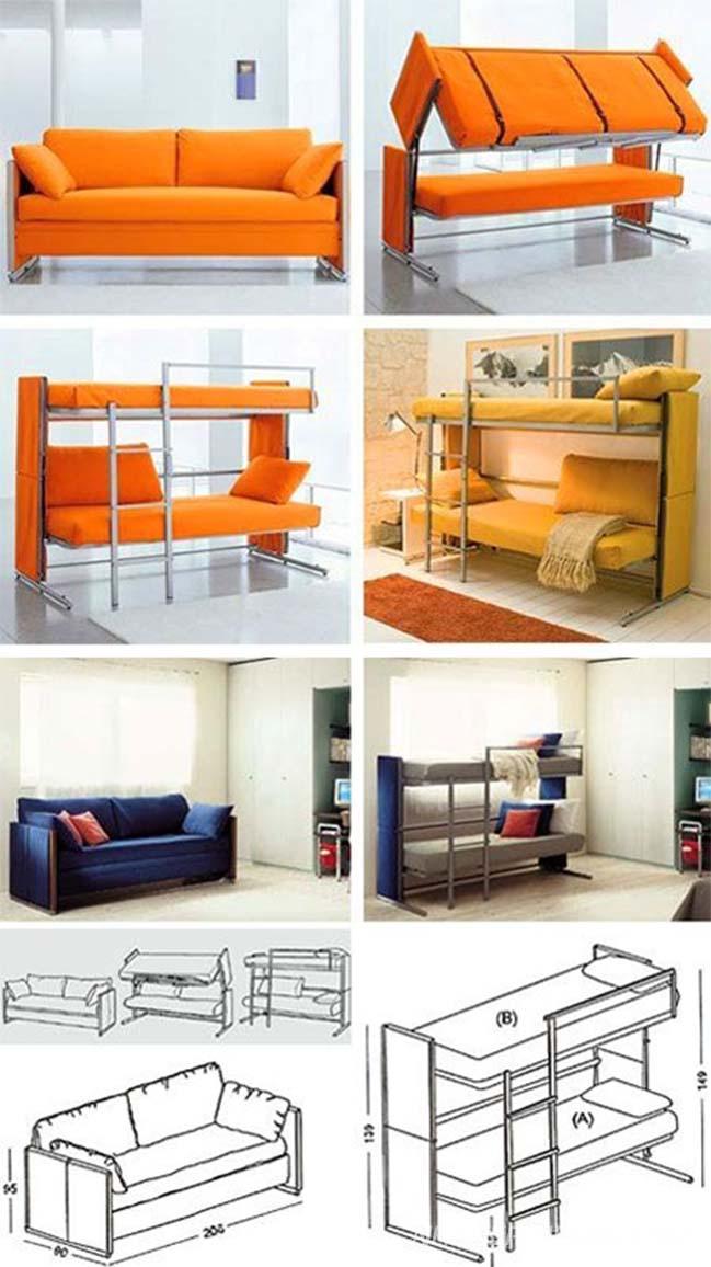 Thiết kế độc đáo cho phòng ngủ có diện tích nhỏ