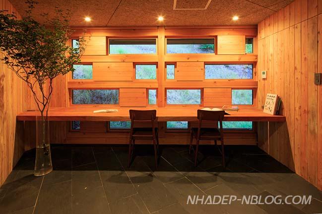 Ngôi nhà gỗ với thiết kế độc đáo tại Nhật Bản