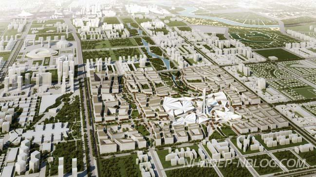 Siêu phẩm kiến trúc của Zaha Hadid tại Astana Expo 2017