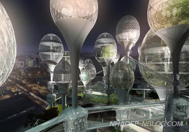 Kiến trúc độc đáo của khu dân cư tương lai tại Paris