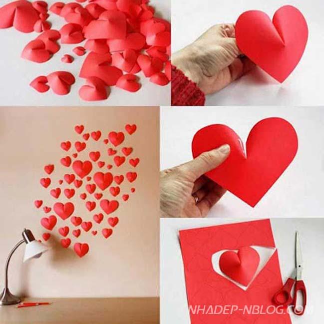 Những ý tưởng sáng tạo cho ngày Valentine