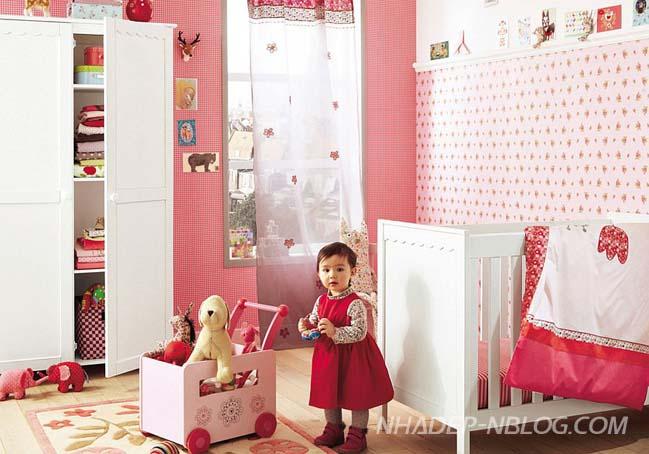 10 mẫu phòng ngủ đẹp với tông màu hồng xinh xắn
