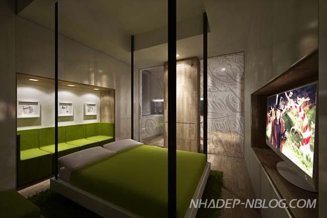 Giải pháp hoàn hảo cho nhà nhỏ đẹp 1 phòng ngủ