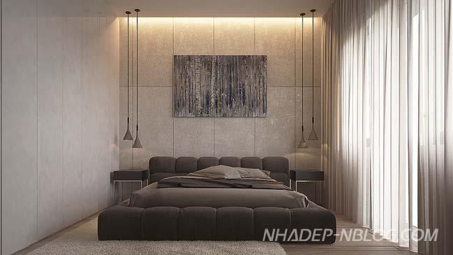 Căn hộ 2 phòng ngủ với nội thất sang trọng