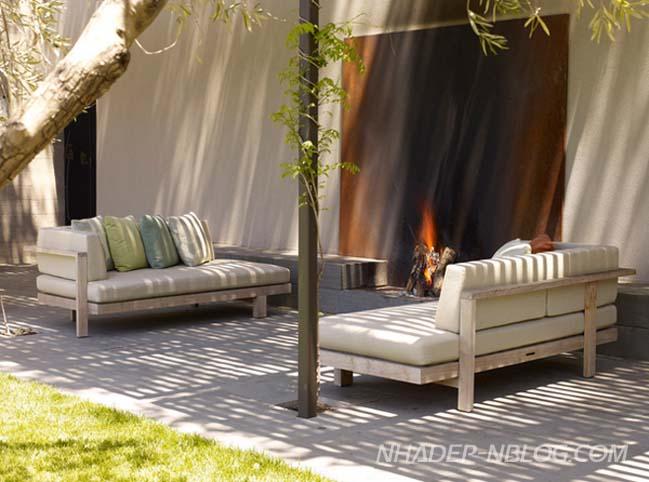 Những mẫu nội thất đẹp cho khu vườn ngoài trời