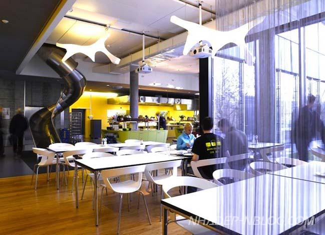 Đột nhập văn phòng của Google tại Zurich