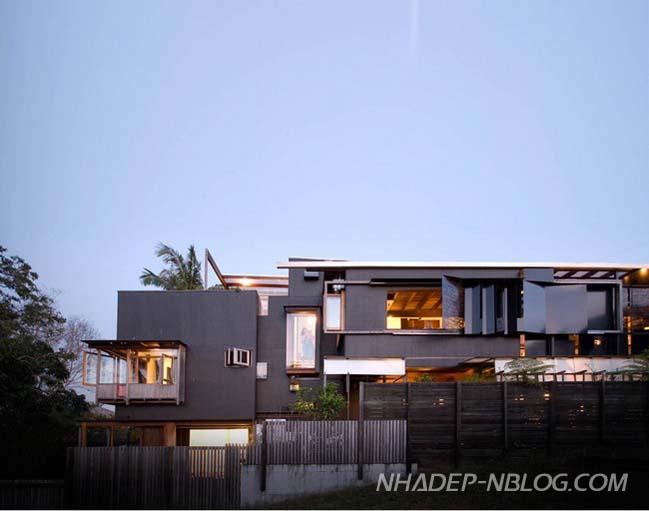 Mẫu nhà gỗ đẹp với diện tích hẹp