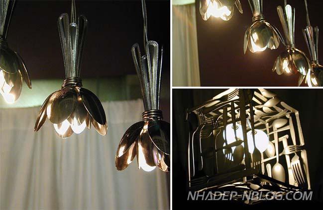 Những ý tưởng độc đáo cho chiếc đèn chùm của bạn