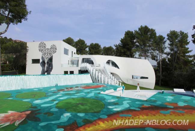 Mẫu biệt thự đẹp sang trọng bậc nhất tại Tây Ban Nha