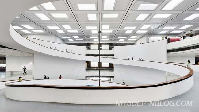 Kiến trúc hiện đại của viện bảo tàng tại Hà Nội