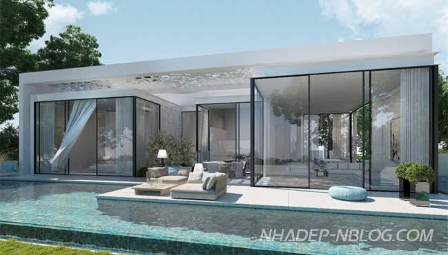 Ngôi biệt thự đẹp với thiết kế sang trọng ngập nắng