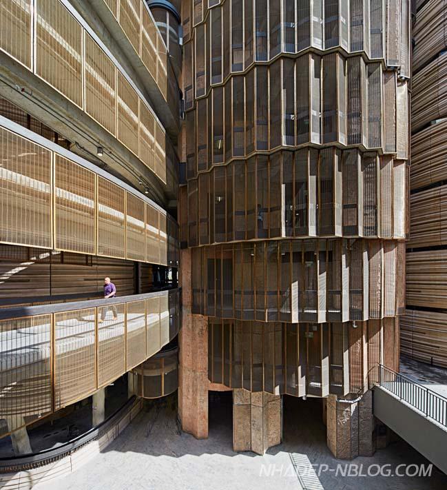 Kiến trúc hiện đại của trường Đại học tại Singapore