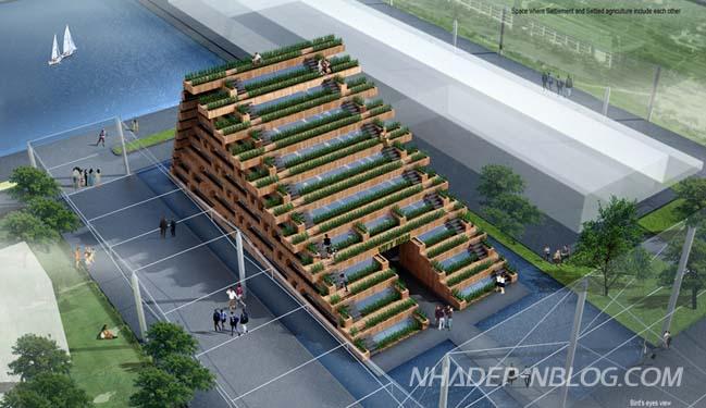 Kiến trúc hiện đại của Việt Nam tại Expo 2015