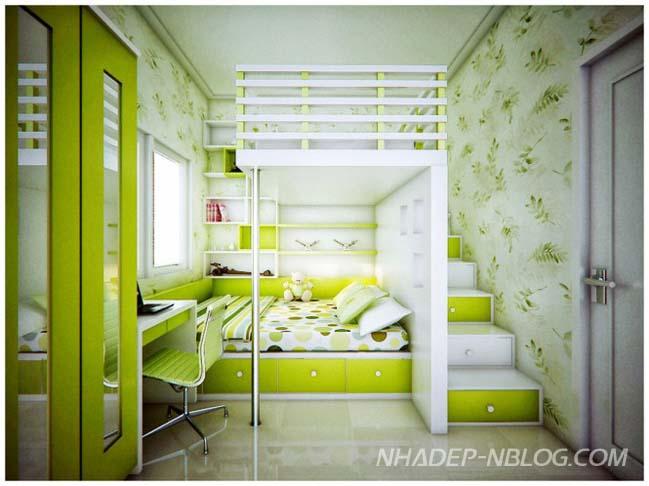 Những ý tưởng đầy màu sắc cho phòng ngủ của bé