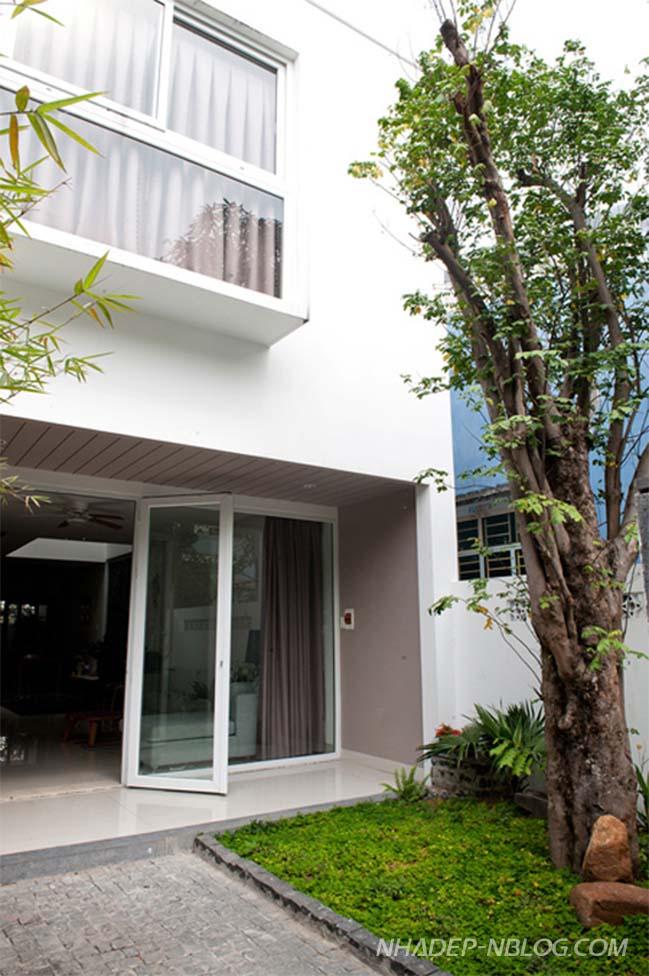 Mẫu nhà phố đẹp 2 tầng tại Đà Nẵng