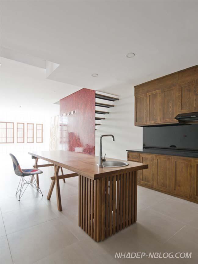 Mẫu nhà phố đẹp 4 tầng với thiết kế tối giản tại Hà Nội
