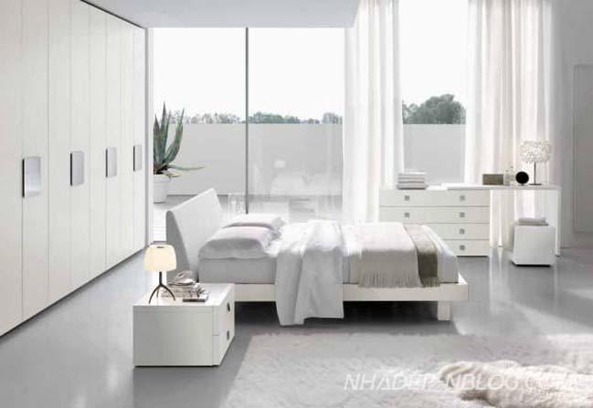 Những mẫu phòng ngủ đẹp với thiết kế tươi sáng