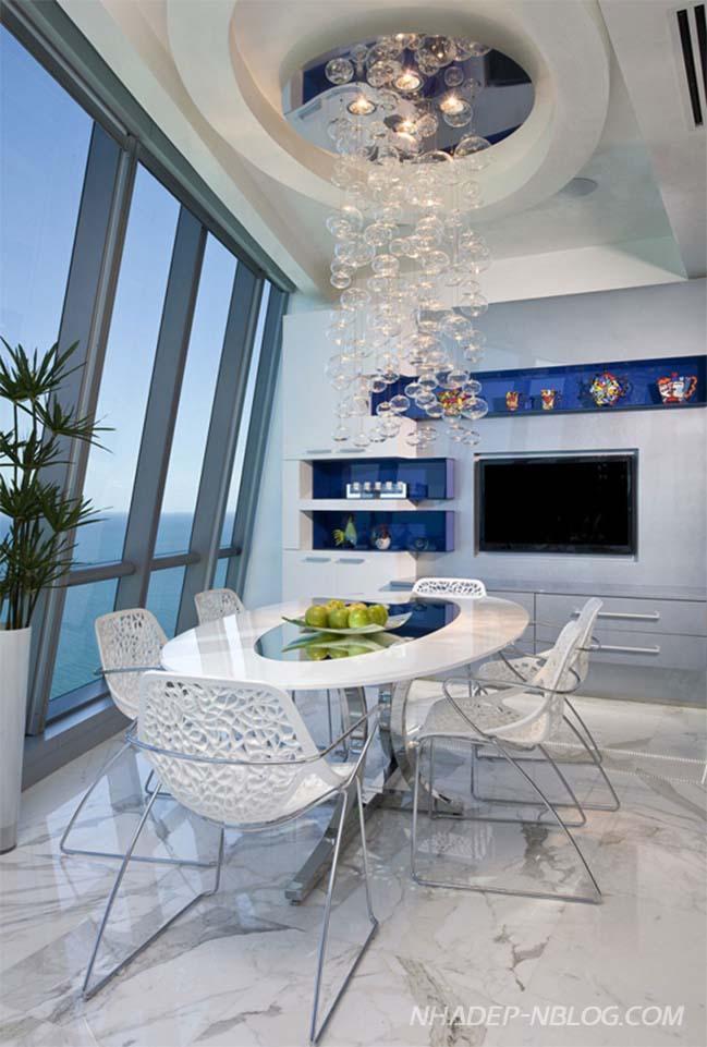 Penthouse 2 tầng với thiết kế hiện đại sang trọng