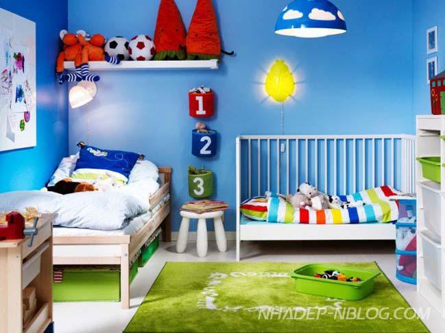 12 mẫu thiết kế hoàn hảo cho phòng ngủ đẹp của bé