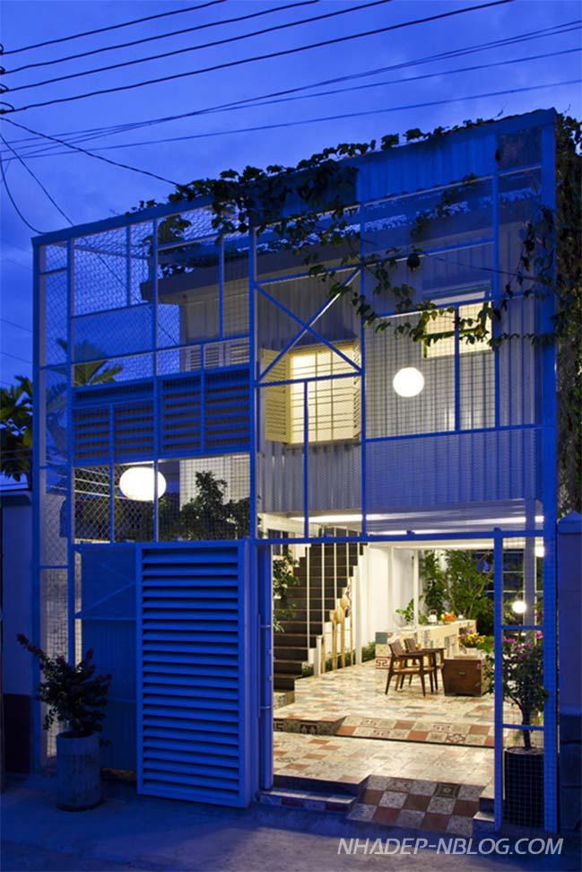 Nhà cấp 4 đẹp với thiết kế xanh và thông thoáng