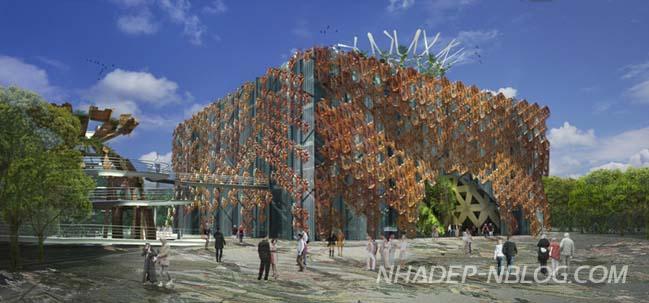 Thiết kế kiến trúc đầy màu sắc của Italy tại Expo Milan 2015