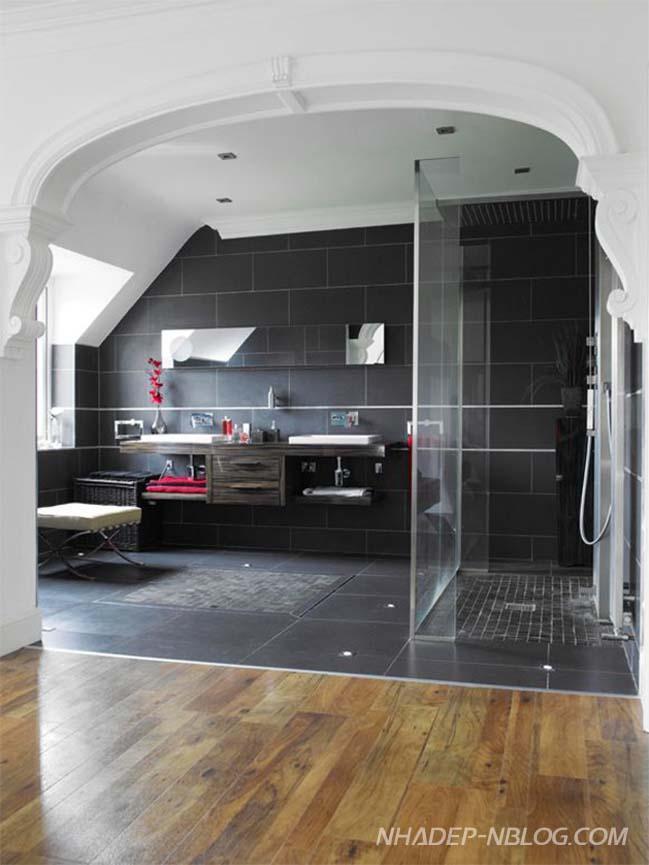 18 mẫu thiết kế phòng tắm đứng hiện đại sang trọng