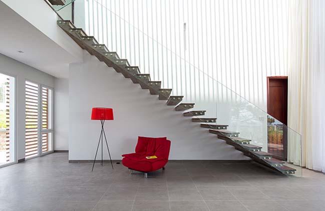 Biệt thự đẹp với thiết kế hình khối hiện đại tại Đà Lạt