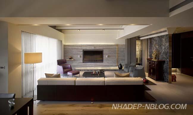 Căn hộ chung cư với thiết kế Á Đông sang trọng