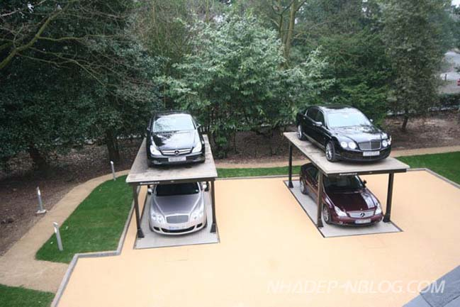 Giải pháp tiết kiệm không gian cho garage nhà bạn