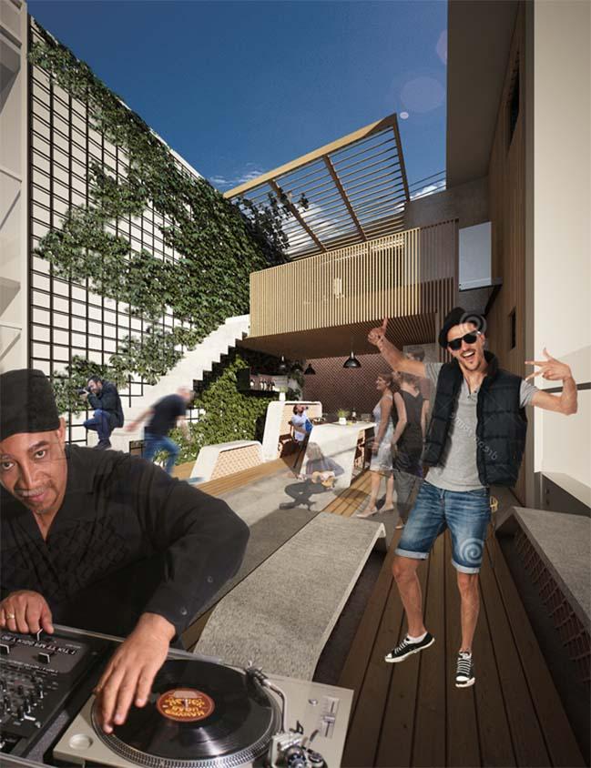 Cải tạo căn hộ penthouse 3 tầng sang trọng tại Saigon Pearl