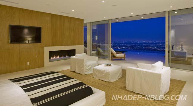 Mẫu biệt thự đẹp với thiết kế sang trọng ấm cúng