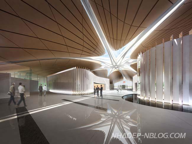 Ngắm kiến trúc hiện đại của nhà khách VIP sân bay Nội Bài